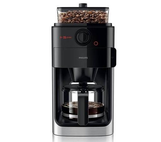 Grind & Brew Filter-Kaffeemaschine Philips HD7765 mit intergrierter Kaffeemühle nur 99,95 Euro inkl. Versand