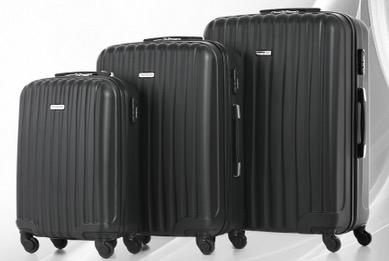 3-teiliges Hartschalen-Kofferset von Tomshoo ab 59,73 Euro inkl. Versand aus Deutschland