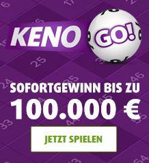 3 Tippfelder KENO (100.000,- Euro) + 25 Rubbellose für nur 99 Cent – nur für Lottoland Neukunden