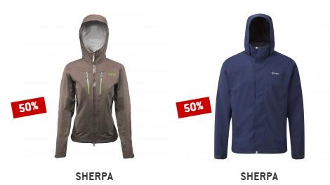 Nur heute: Sherpa Hardshelljacke Lakpa Rita für 184,98 oder Sherpa Urgyen nur 119,98 Euro