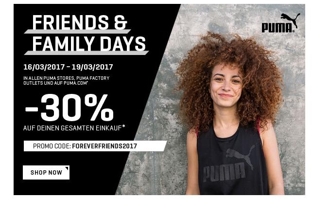 Sale im Puma Onlineshop mit bis zu 50% Rabatt und zusätzlich 30% Gutscheincode!