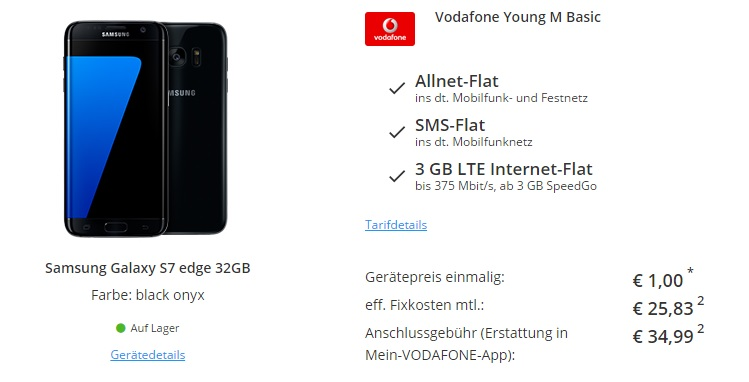 Vodafone Anschlusspreisbefreiung
