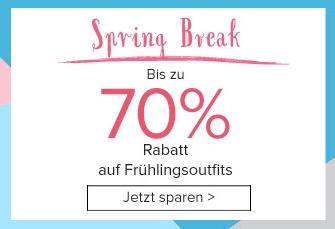 Dress-for-Less: Bis zu 70% Rabatt auf Frühlingsoutfits + 10% Newslettergutschein!