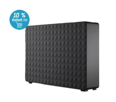 Externe 3,5″ Festplatte Seagate Expansion Desk mit 3TB für 86,09 Euro inkl. Versand