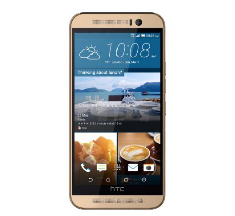 HTC One M9 Premium Gold Smartphone, Android, 16 GB, 5 Zoll für nur 240,99 Euro inkl. Versand