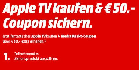apple tv 4 gen mit 32gb f r 179 euro kaufen und 50. Black Bedroom Furniture Sets. Home Design Ideas