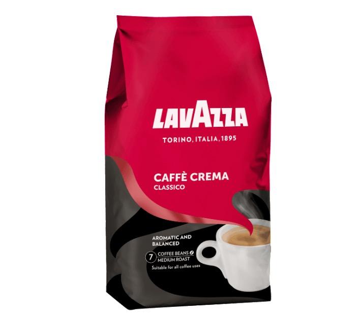 Lavazza Cafe Crema Classico als 1KG Kaffeebohnen für nur 9,99 Euro