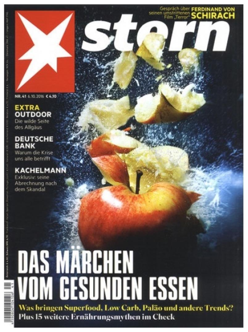 6 Ausgaben der Zeitschrift Stern