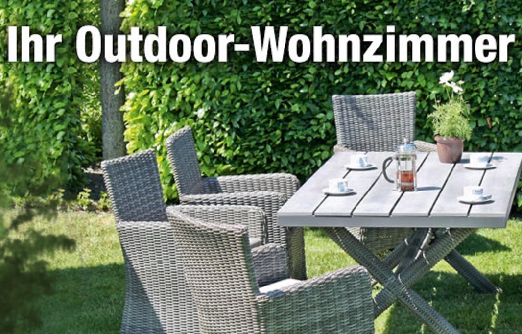20% Extra-Rabatt auf ausgewählte Gartenmöbel im GartenXXL Onlineshop