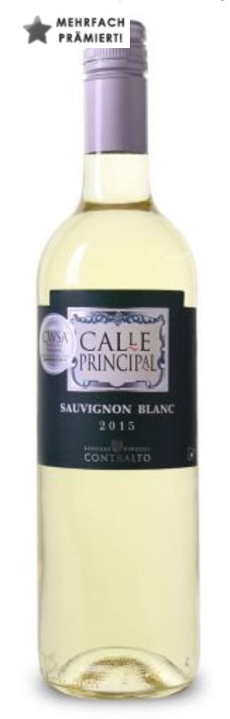 6er-Karton Bodegas Viñedos Contralto - Calle Principal Sauvignon Blanc
