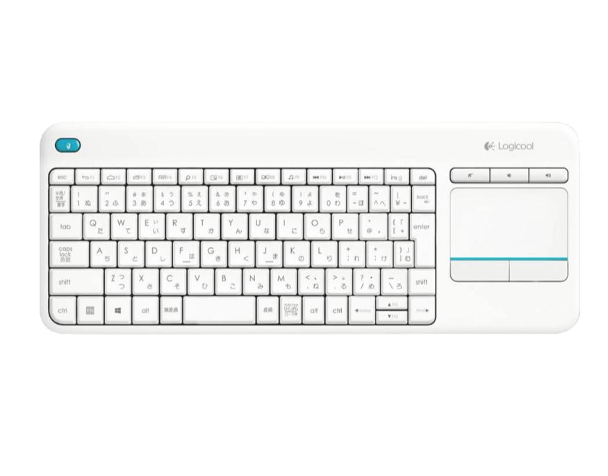 LOGITECH K400 Plus Tastatur in schwarz und weiß für je nur 22,- Euro inkl. Versand