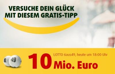 Eine Reihe Lotto 6aus49 für Mittwoch + Samstag und 30 Rubbellose nur 99 Cent für Lottoland Neukunden