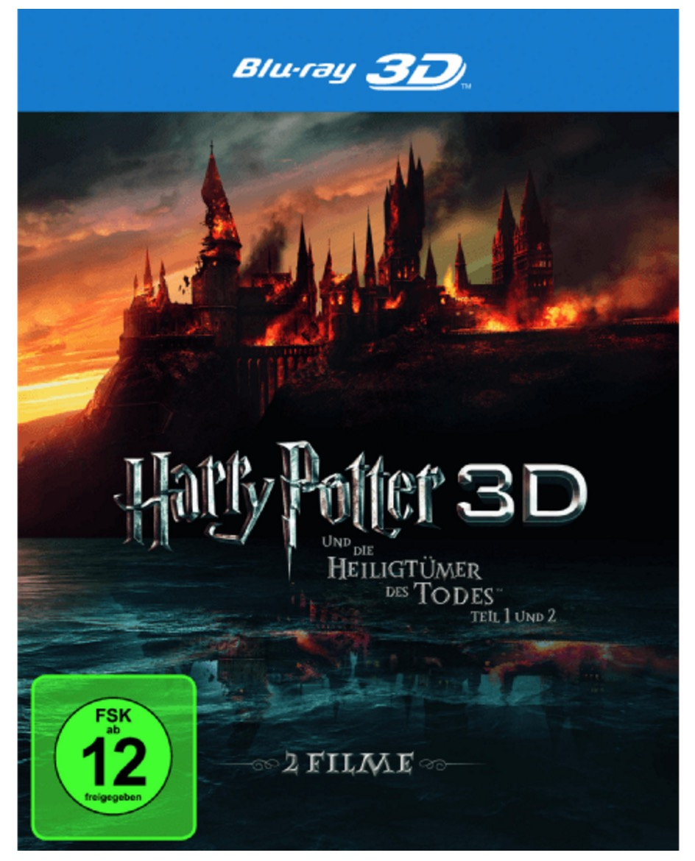 Harry Potter und die Heiligtümer des Todes 1+2 – (3D Blu-ray) ab 19,99 Euro