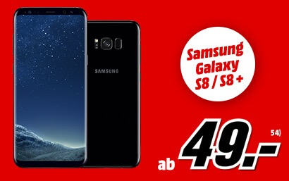 Vodafone Allnet-Flat mit Tel-, SMS- und 3GB Internet-Flat (42 MBit) nur 39,99 monatlich + Samsung Galaxy S8 nur 49,- Euro