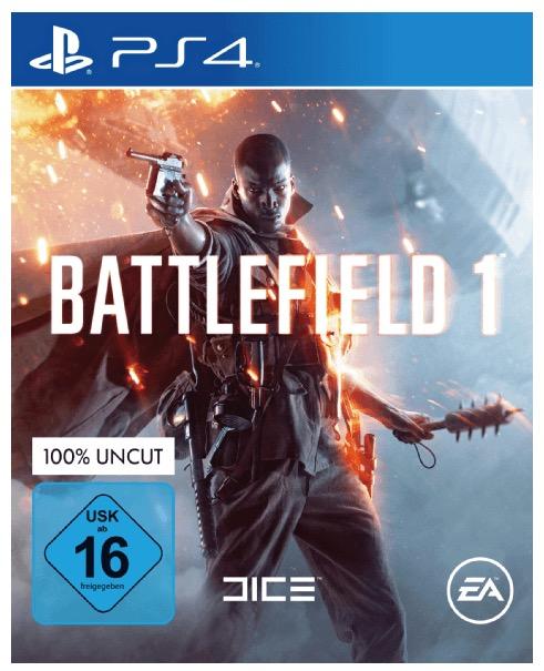 Battlefield 1 für die PS4, Xbox One oder PC für je nur 29,- Euro inkl. Versand