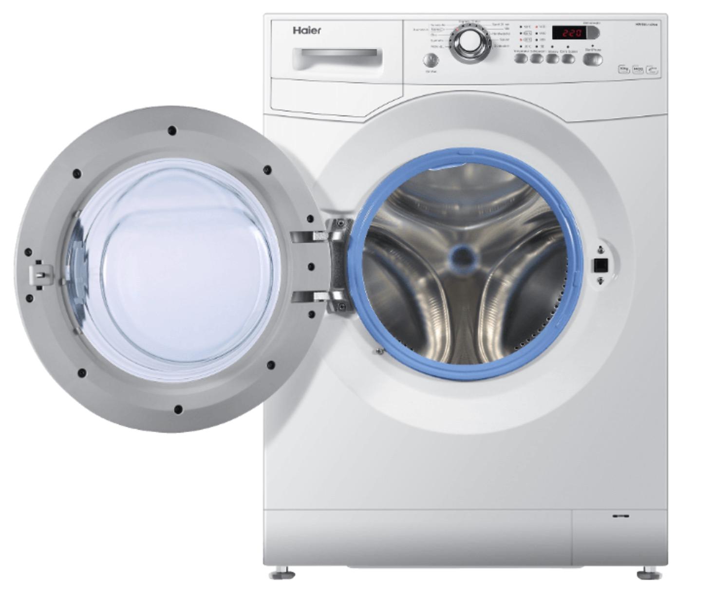 haier hw 100 14636 waschmaschine 10 kg 1400 u min a f r nur 357 euro. Black Bedroom Furniture Sets. Home Design Ideas