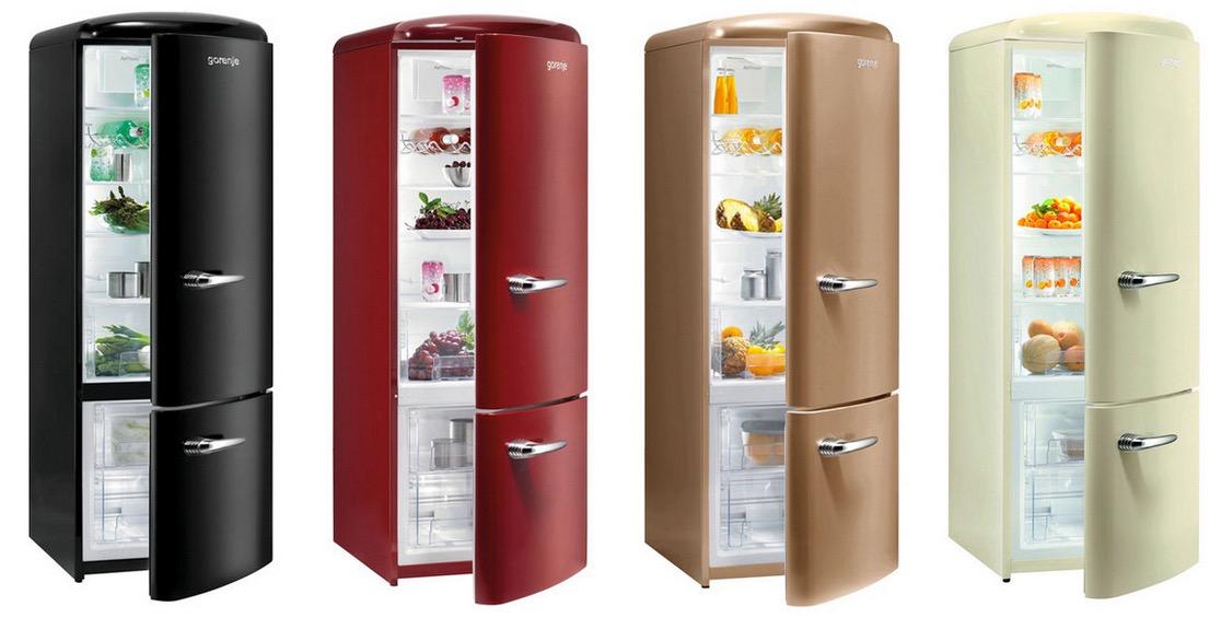 Retro Kühlschrank Gefrierkombination : Gorenje rk retro kühl gefrierkombination a in vielen