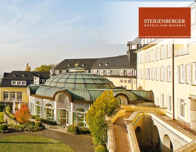 Steigenberger Hotels 2x Übernachtung mit Frühstück für 2 Personen nur 222,- Euro