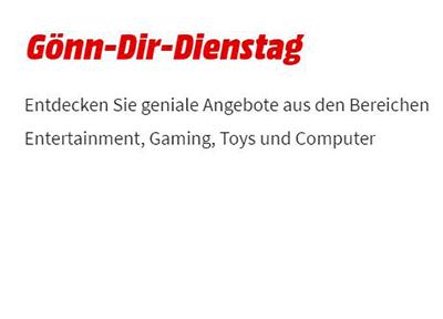 MediaMarkt Gönn dir Dienstag mit verschiedenen Deals für Gamer und Filmbegeisterte