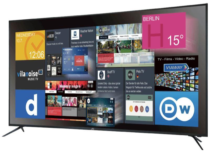JAY-TECH GENESIS UHD 6.5 LED TV (Flat, 65 Zoll, UHD 4K) für nur 599,- Euro inkl. Versand (statt 834,- Euro)