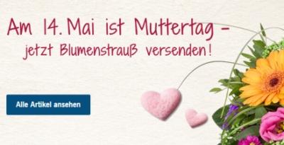 ❤ Am 14. Mai ist Muttertag: Heute noch schnell bei Lidl-Blumen 15% Rabattgutschein sichern!
