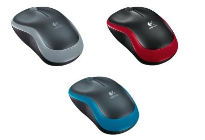 Logitech M185 Maus in grau, rot oder blau für je nur 9,- Euro inkl. Versand