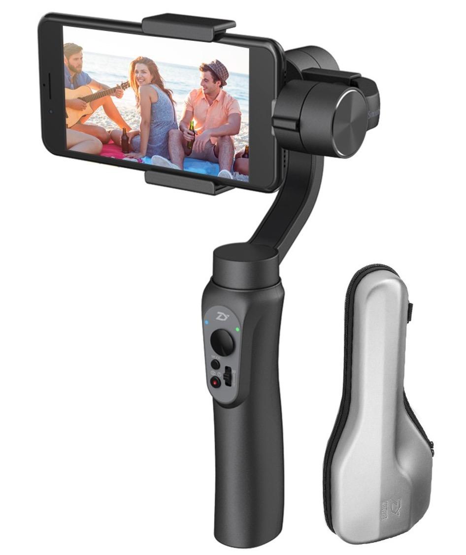 Zhiyun Smooth-Q 3-Achsen Smartphone Gimbal für 77,50 Euro inkl. Versand