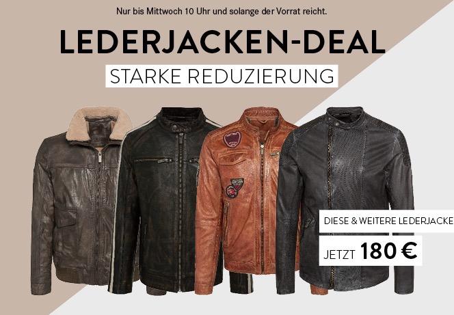 Camp David Lederjacken-Sale