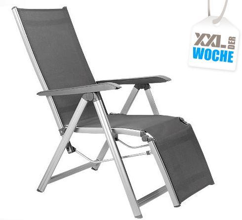Kettler Relaxsessel Basic Plus in Silber-Anthrazit für nur 99,95 Euro inkl. Versand