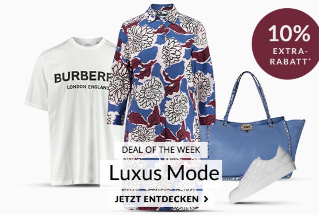 Engelhorn Weekly Deal mit 10% Extra-Rabatt auf Luxusmarken wie D&G oder Philipp Plein