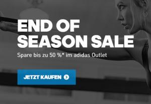 Adidas End-of-Season Sale mit bis zu 50% Rabatt auf über 3.700 Artikel