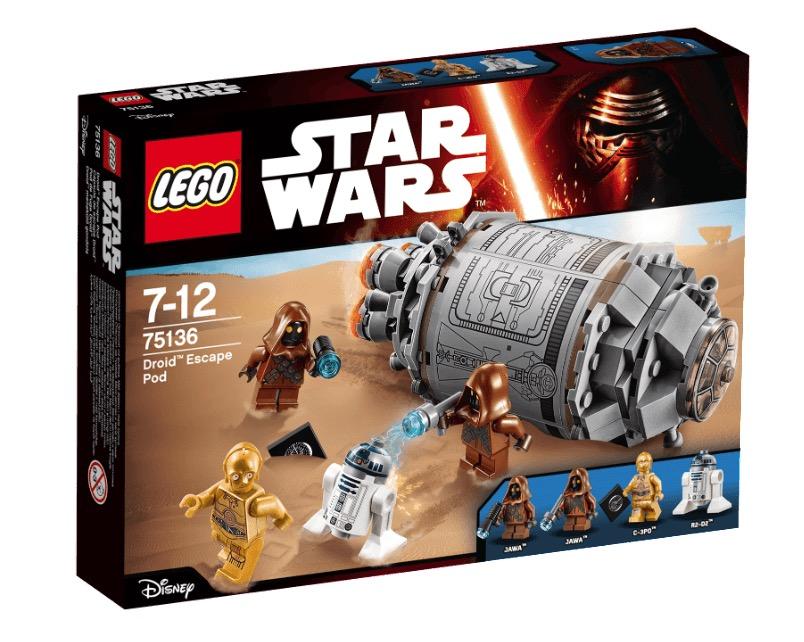 LEGO Droid Escape Pod (75136) für nur 9,99 Euro bei Marktabholung (Vergleich 27,50)