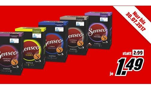 Senseo Kapseln für Nespresso zu guten Preisen – je mehr ihr kauft, umso mehr Rabatt
