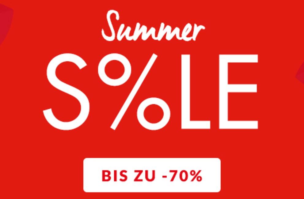 Tipp! Summer Sale Fashion bis zu 70% Rabatt bei Engelhorn