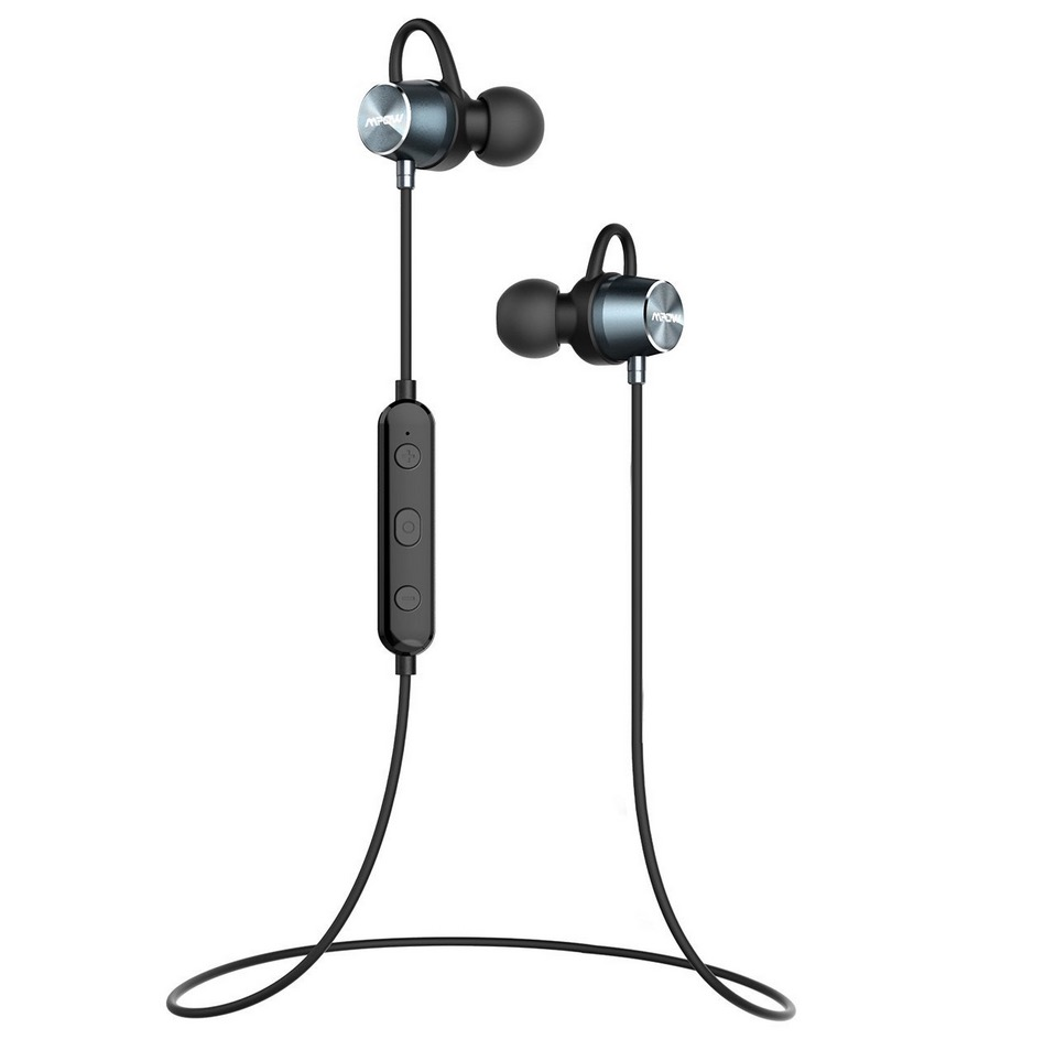 Kabellosen Mpow Bluetooth In Ear Kopfhörer 4.1 mit Noise Cancelling nur 14,69 Euro bei Prime inkl. Versand