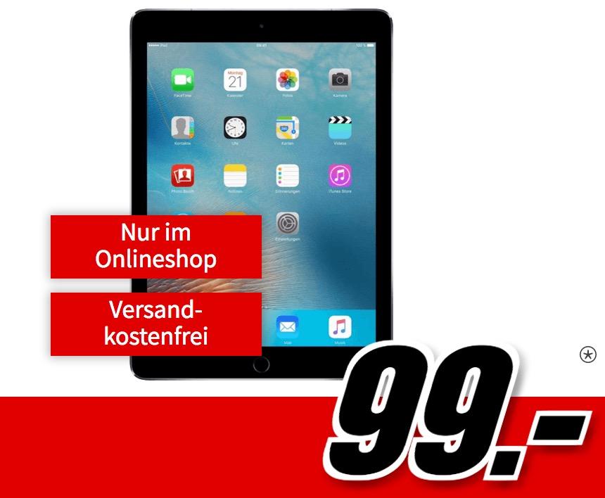 Knaller! Datenflat 5GB mit 500Mbit im Vodafone-Netz nur 19,99 Euro – dazu Apple iPad Pro 9,7 Wifi + Cellular einmalig 99,- Euro