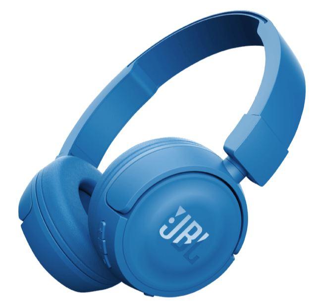 JBL T450BT Bluetooth Kopfhörer in blau für 25,- Euro