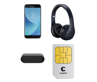 Congstar Allnet Flat Speed mit 5GB Datenflat + Samsung Galaxy J5 + XQISIT XqS10 Bluetooth Speaker + Samsung Level On Pro Kopfhörer für mtl. 25,- Euro