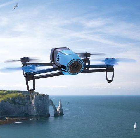 Parrot Quadrocopter Bebop Drohne in Blau mit 14 Megapixel-Kamera und Return-Home nur 99,99 Euro inkl. Versand