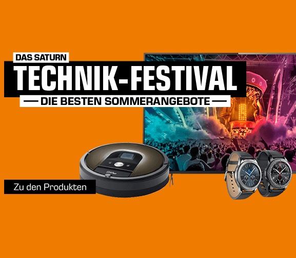 Das Saturn Technik-Festival mit vielen tollen Angeboten – z.B. Sony KD-55XE8096 55 Zoll UHD Smart TV für nur 888,- Euro (statt 999,- Euro)