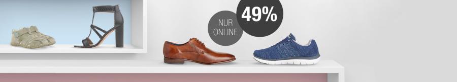 49% Rabatt auf alle Schuhe bei Galeria Kaufhof z. B. Nike