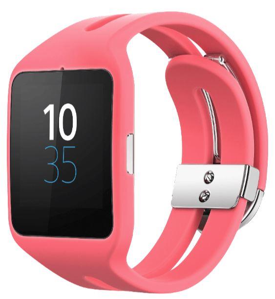 SONY Smart Watch 3 SWR 50 Silikon in Pink für nur 56,- Euro