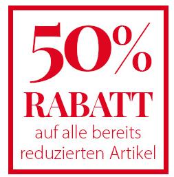 Nur noch heute: 50% Aktionsrabatt auf bereits reduzierte Artikel bei NKD