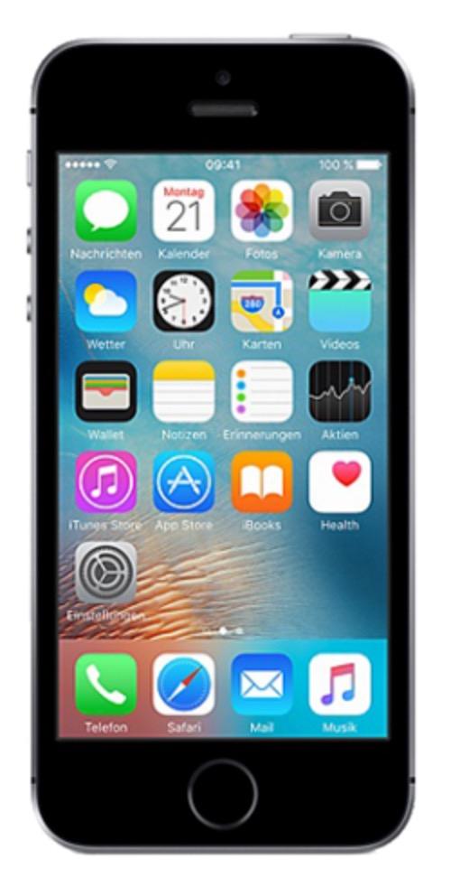 Blau Allnet XL mit Allnet- & SMS-Flat + 4GB Daten für mtl. 24,99 Euro + Apple iPhone SE für nur einmalig 1,- Euro