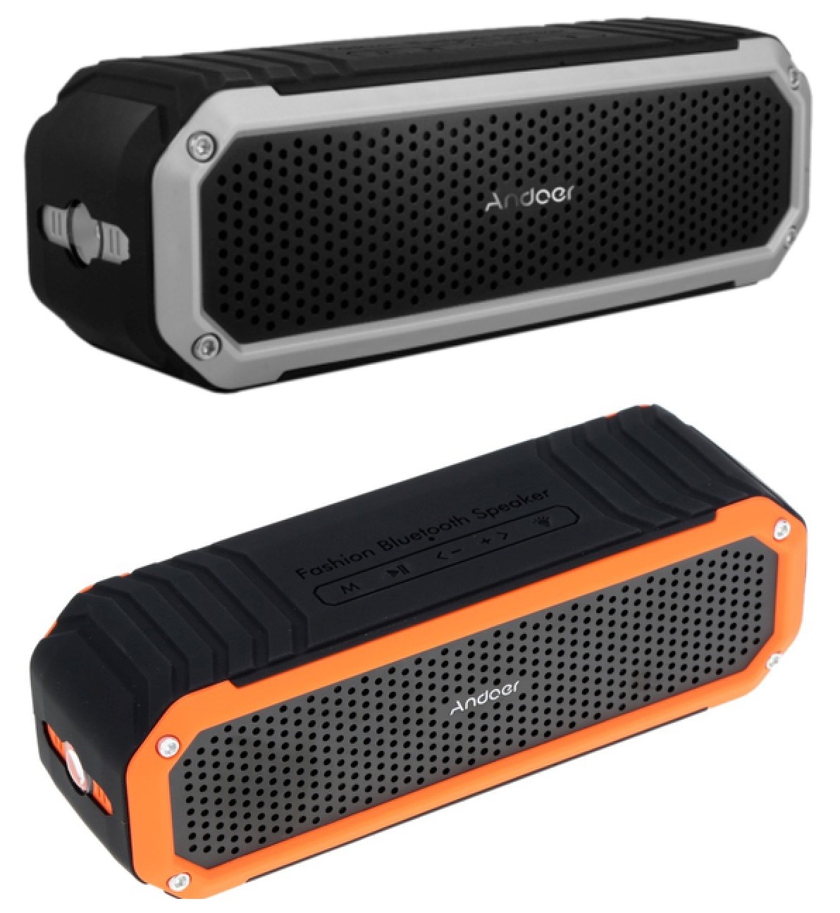 Andoer 10W Wireless Bluetooth 4.0 Outdoor Stereo Lautsprecher für nur 16,63 Euro inkl. Versand