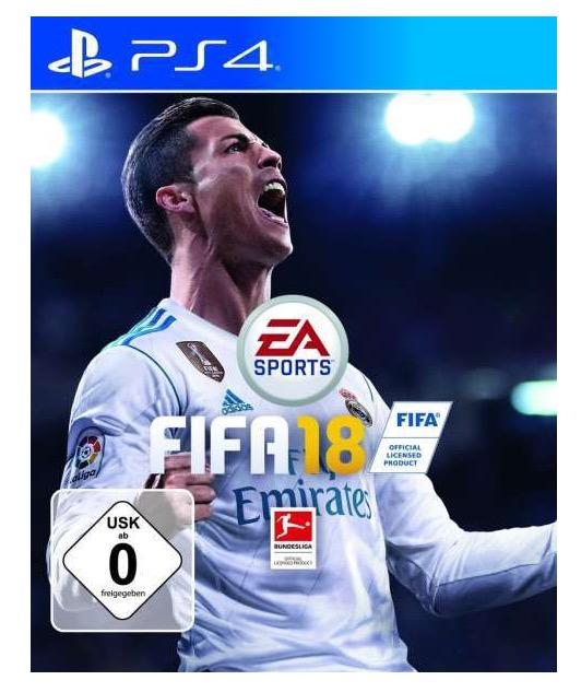 Megaknaller! Fifa 18 (PS4 oder Xbox) für nur 29,95 Euro inkl. Versand vorbestellen (Vergleich 60,-)
