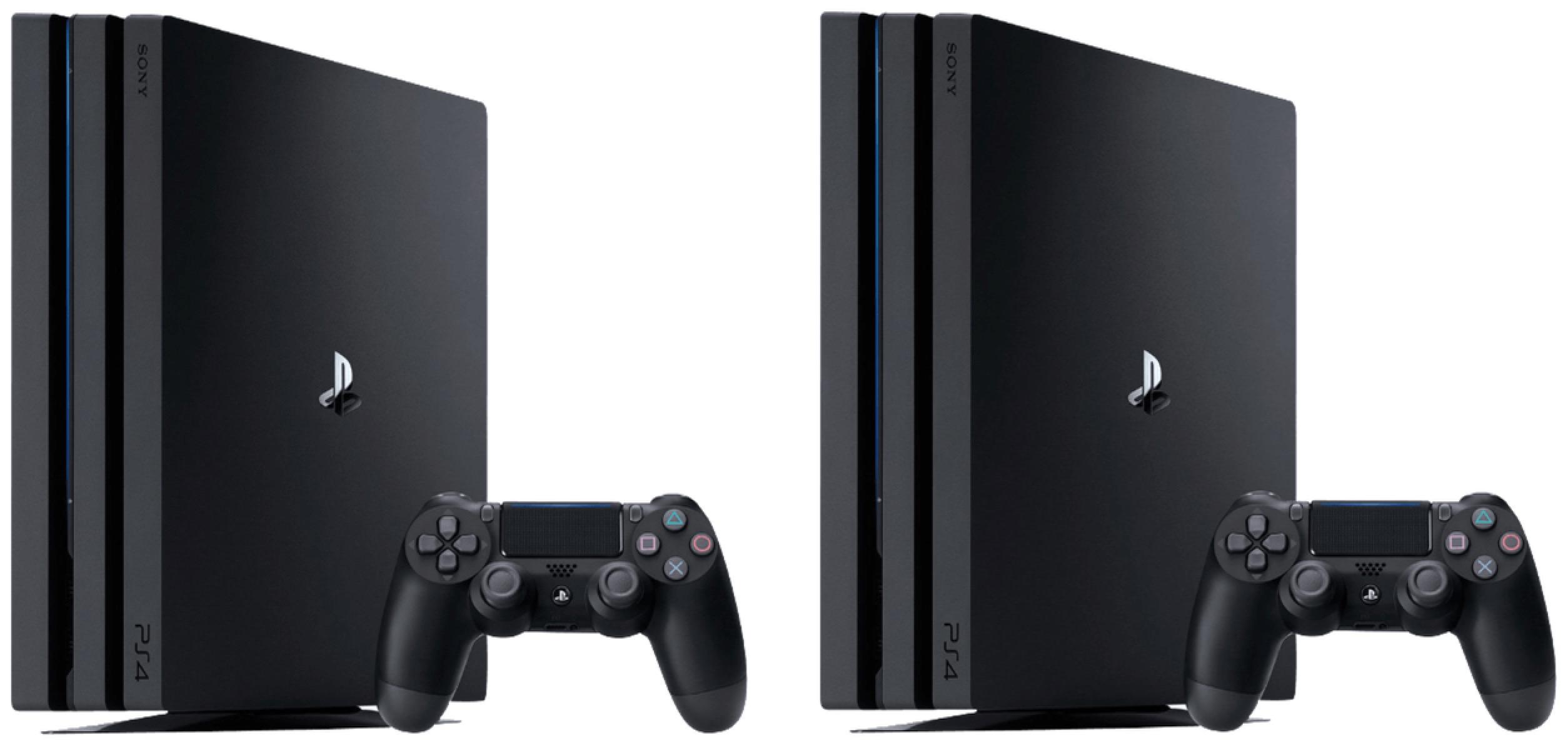 Top! Doppelpack SONY PlayStation 4 Pro 1TB für nur 598,- Euro