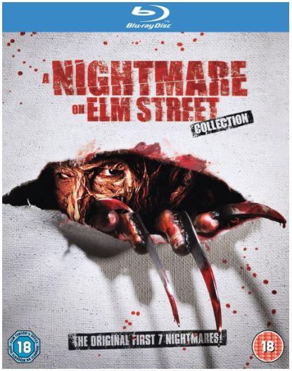 Nightmare On Elm Street 1-7 Collection [Blu-ray] für nur 14,55€ inkl. Versand