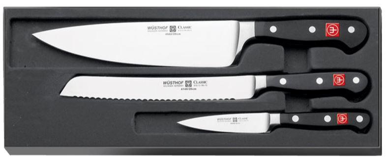 3-teiliges Wüsthof Classic Messer-Set