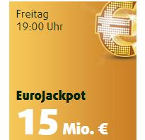 Heute 10 Mio. Euro im EuroJackpot – 1 Feld für 2 Ziehungen + 25x Rubbellose nur 99 Cent für Lottoland Neukunden!